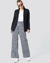 NA-KD High Waist Wide Striped Pants multicolor