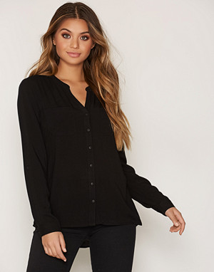 Only skjorte, onlFIRST Ls Pocket Shirt Noos Wvn