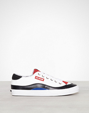 Love Moschino sneakers, Hvit Lather Sneaker