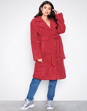 NLY Trend kåpe, Tie Waist Teddy Coat