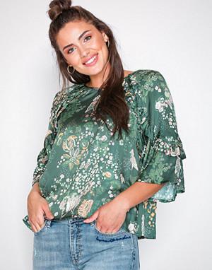 Odd Molly bluse, flower fantasy flirt blouse
