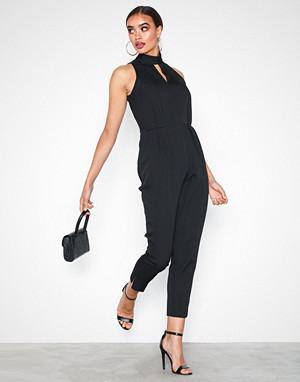 Closet jumpsuit, Black High Pleated Jumpsuit