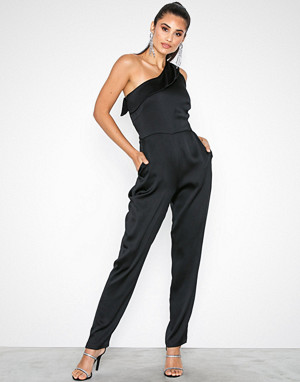 Closet jumpsuit, Gold One-Shoulder Jumpsui