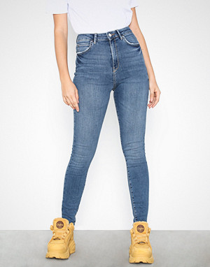 Gina Tricot jeans, Gina Curve Jeans Mid Blue