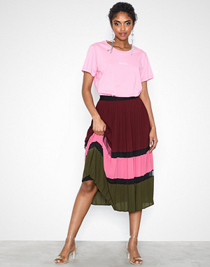 Y.a.s skjørt, Yaselouise Pleated Skirt Ft