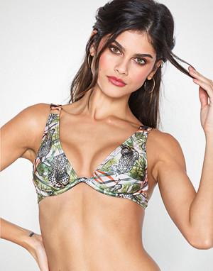 South Beach bikini, Safari Print Monowire Top