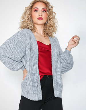 Missguided kardigan, Oversized Knitted Cardigan