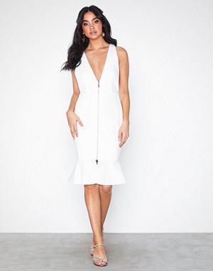 Rare London kjole, Flute Hem Midi Dress