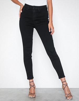 Vila jeans, Vicommit Felicia Hw Slim 7/8 Black