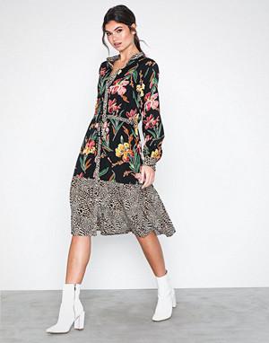 Vila kjole, Visarini L/S Midi Dress/Ka