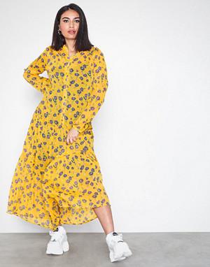 Vila kjole, Vilamala L/S Ankle Dress