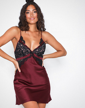 Hunkemöller nattøy, Kalei Satin Lace Slip Dress
