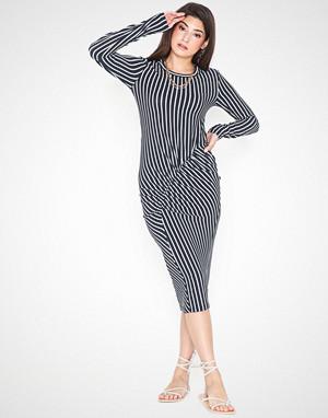 Jacqueline de Yong kjole, Jdynola L/S Striped Dress Jrs