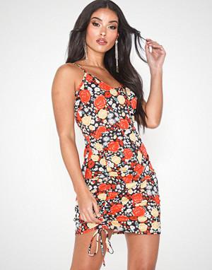 Parisian kjole, Floral Rouched Cami Mini Dress