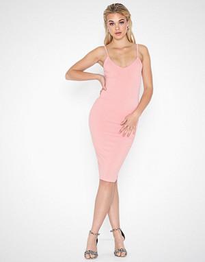 Parisian kjole, Rib Knit Bodycon Dress