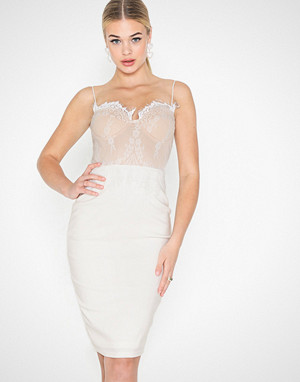 Rare London kjole, Lace Bralet Midi Dress