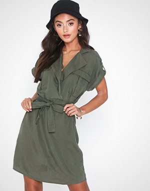 Noisy May kjole, Nmvera S/S Endi Tencel Shirt Dress