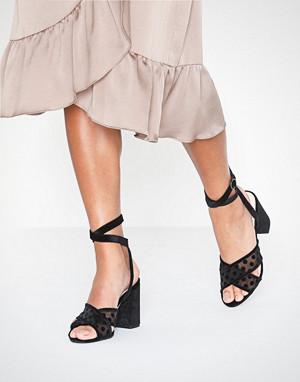 Bianco pumps, BIACALI Velour Dots Sandal