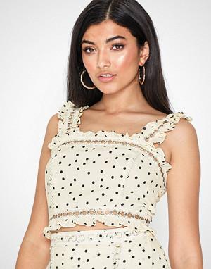 Glamorous singlet, Lace Crop Top