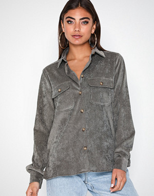 NLY Trend skjorte, Corduroy Shirt