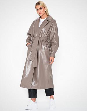 NLY Trend kåpe, PU Wrap Coat