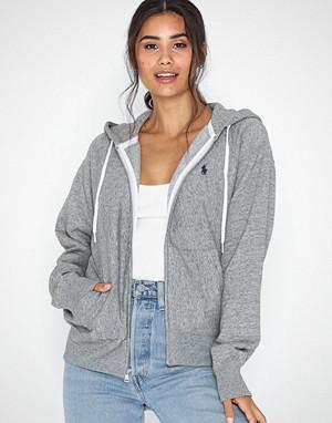Polo Ralph Lauren collegegenser, Ls Zip Hd-Long Sleeve-Knit