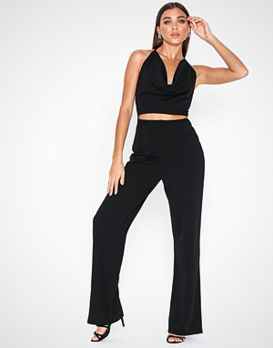 NLY One jumpsuit, Waterfall Open Back Jumpsuit