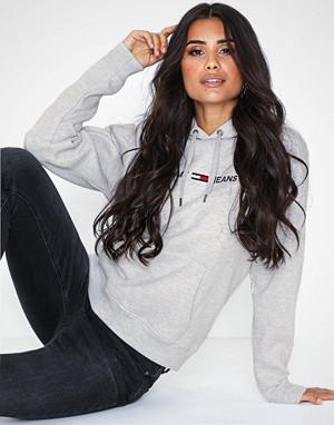 Tommy Jeans collegegenser, Tjw Clean Linear Logo Hoodie