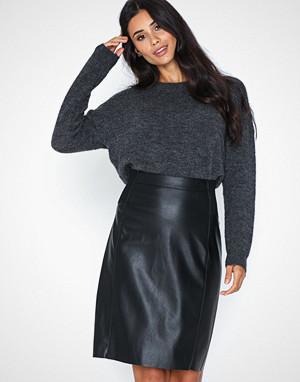Vero Moda skjørt, Vmbuttersia Hw Coated Skirt Noos
