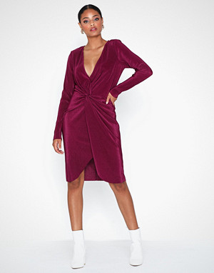 NLY Eve kjole, Twisted Pleated Dress