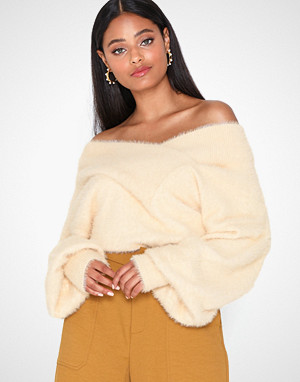 Y.a.s genser, Yasfleur Ls Knit Pullover