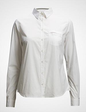 Signal skjorte, L/S Shirts Langermet Skjorte Hvit SIGNAL