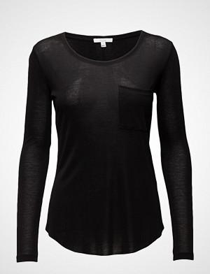 Dagmar T-skjorte, Eli T-shirts & Tops Long-sleeved Svart DAGMAR