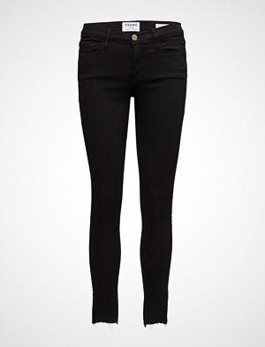 FRAME jeans, Le Skinny De Jeanne Rw Stagger Skinny Jeans Svart FRAME