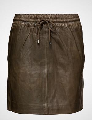 DEPECHE skjørt, Skirt With Smock Waist
