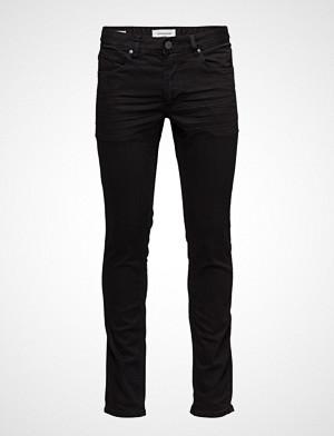 Lindbergh collegegenser, Slim Jeans - St Black Slim Jeans Svart LINDBERGH