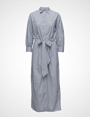Hunkydory kjole, Peyton Shirt Dress Maxikjole Festkjole Blå HUNKYDORY