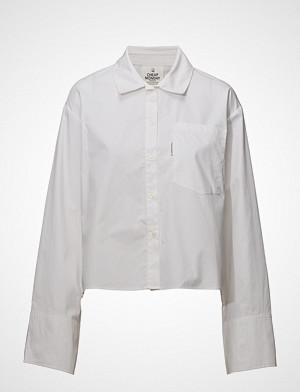 Cheap Monday skjorte, Hack Shirt Langermet Skjorte Hvit CHEAP MONDAY