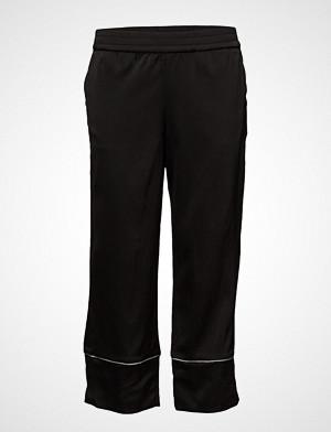 Pulz Jeans bukse, Gloria Pant Ankle Length Vide Bukser Svart PULZ JEANS