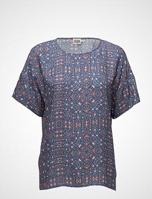 Twist & Tango T-skjorte, Thilda Blouse T-shirts & Tops Short-sleeved Blå TWIST & TANGO
