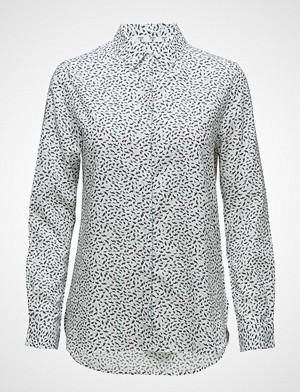 Barbour skjorte, Barbour Hustanton Shirt Langermet Skjorte Hvit BARBOUR