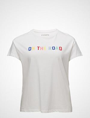 Violeta by Mango T-skjorte, Printed Message T-Shirt