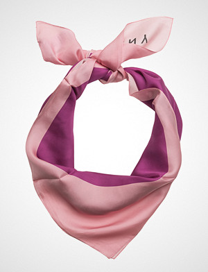 DKNY Bags skjerf, Freya Logo Foulard Skjerf Rosa DKNY BAGS