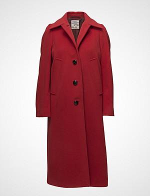 Baum Und Pferdgarten Dolores Outerwear Coats Wool Coats Rød BAUM UND PFERDGARTEN