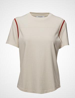 FRAME T-skjorte, Rugby Crew Tee T-shirts & Tops Short-sleeved Hvit FRAME