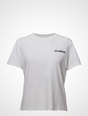 HAN Kjøbenhavn T-skjorte, Casual Tee T-shirts & Tops Short-sleeved Hvit HAN Kjøbenhavn