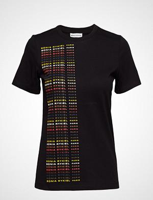 Sonia Rykiel T-skjorte, T-Shirt Mc T-shirts & Tops Short-sleeved Svart SONIA RYKIEL