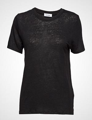 Rodebjer T-skjorte, Ninja Linen T-shirts & Tops Short-sleeved Svart RODEBJER