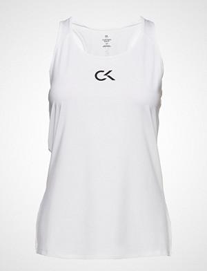 Calvin Klein Performance singlet, Tank Logo T-shirts & Tops Sleeveless Hvit CALVIN KLEIN PERFORMANCE