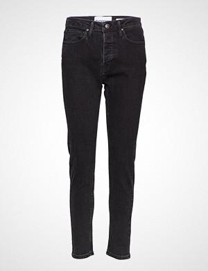 Tomorrow jeans, Hepburn Hw Mom Original Black Slim Jeans Svart TOMORROW